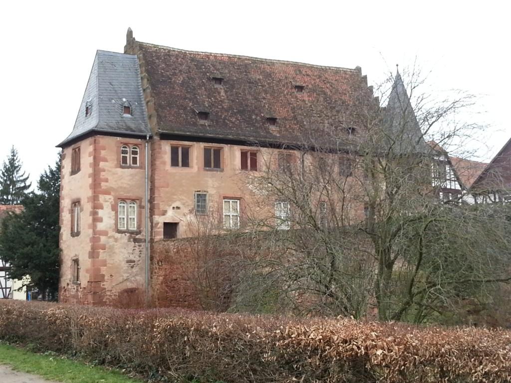 Steinernes Haus vom Meliorsdamm aus gesehen