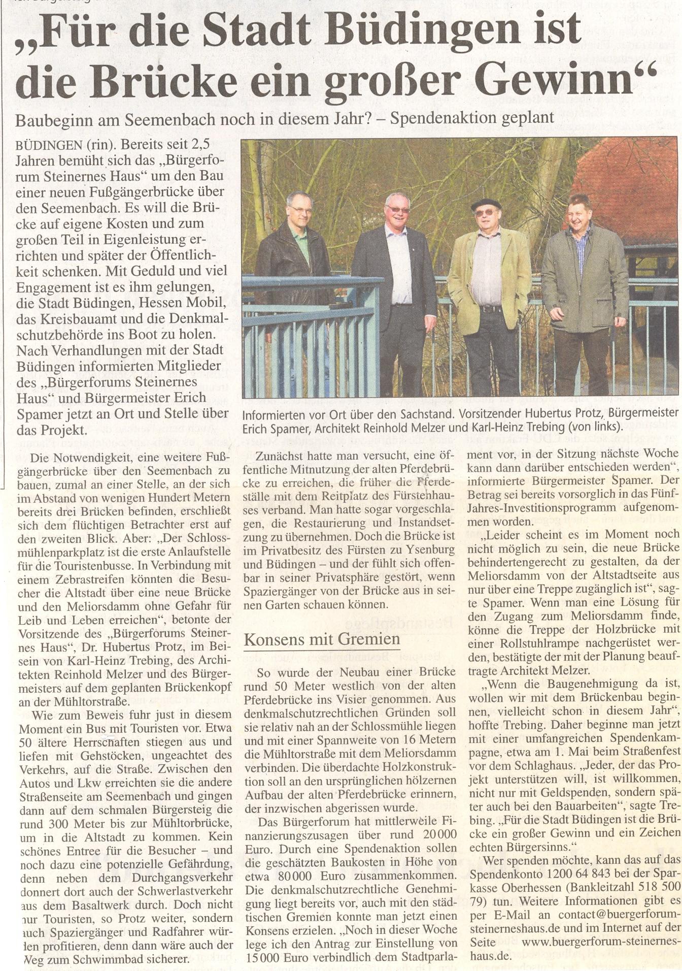 Kreis-Anzeiger vom 8. März 2013